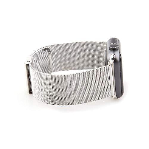 アップルウオッチパーツ付き スマート腕時計バンド ステンレス鋼 ミラネーゼ メッシュ ベルトメタル ブレス バンド バネ棒外し付属 リンクブレスレット バンド 44mm 40mm 38mm 42mm Apple Watch5 4 3 2 1 交換ステンレス