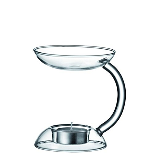 LEONARDO HOME Aroma Glas silber Kerzenhalter