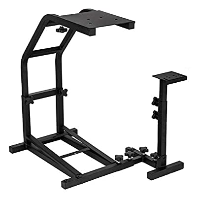 Mophorn Racing Simulator Steering Wheel Stand fit for Logitech G29, G27 and G25 Racing Wheel Pro Stand Wheel and Pedals Not Included G29 G27 G25 Wheel Stand