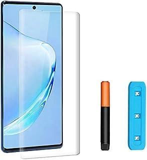 Härdat Glas För Samsung Galaxy Note 10+, Skärmskydd, Skärmskydd, UV-Kit, 3D Böjd För Samsung Galaxy Note 10+