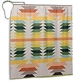 Duschvorhang für Badezimmer, amerikanisches Indianer-Muster, ohne Tuch, Duschvorhang-Set mit Haken, dekoratives Badezimmer-Zubehör, 167,6 x 182,9 cm