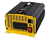 Go Power! GP-800HD Heavy-Duty Modified Sine Wave Inverter - 800 Watt / 12V