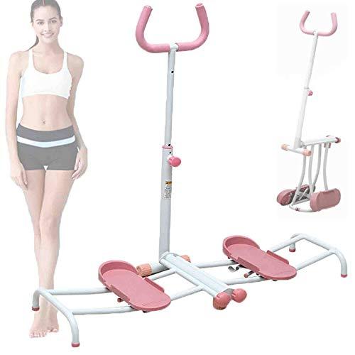 WDSZXH Plegable Máquina para Ejercitar Piernas y Glúteos, Postparto Belly Fitness Beauty Buttock Machine, Estructura de Acero Estable, Maquina Musculacion Multifunción