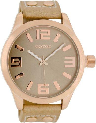 Oozoo Uhr für Frauen Lederband C1151–Sandfarben