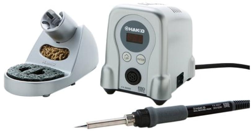 自治公園メンダシティハッコー(HAKKO) 小型温調式はんだこて デジタルタイプ FX888D-01SV