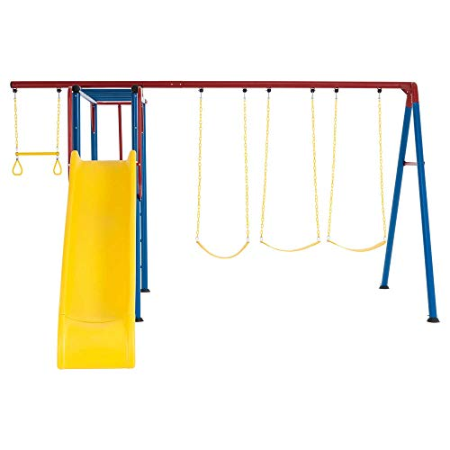 Lifetime 91022 Monkey Bar Adventure Swing Set, Primary