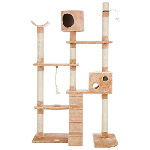 UWOP rascador Gato–Bengala de (Media Altura 74cm/187cm)