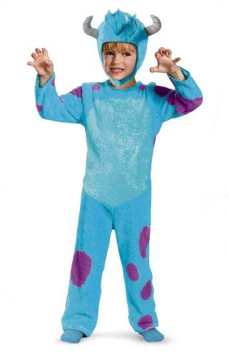 Disney Pixar Monsters University Sulley Toddler Classic Costume, 4-6