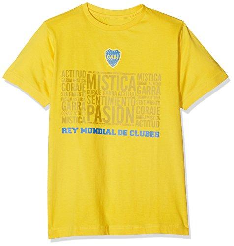 Boca Juniors Mistica Camiseta, Niños, Amarillo, 12 años