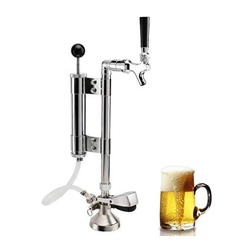 BENOHAOH Juego De Bomba De Fiesta De Barril De Cerveza, Tipo De Cerveza G De Cerveza Tipo Keg Dispensador De Acoplamiento Sistema De Grifo De Cerveza, Bomba De Cerveza con 5/8'g