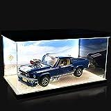 Funda De Acrílico para Lego Creator Expert Ford Mustang, A Prueba De Polvo, Caja De Exposición Compatible con Lego 10265 (Modelo No Incluido)