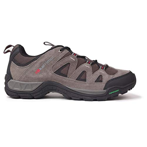 Karrimor Mens Summit Walking Shoes Non Waterproof Lace Up Breathable Mesh Panels Charcoal UK 10 45