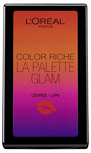 L'Oréal Palette labbra Color Riche Glam