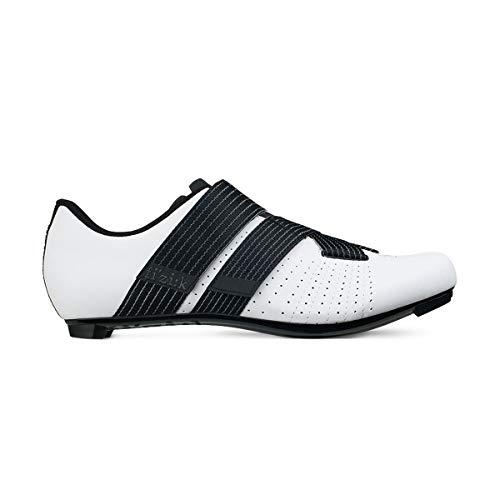 Fizik Powerstrap R5, Unisex_Adult, Cycling Shoe, TPR5PSPU2, Bianco/nera, 39