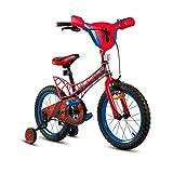 LKAIBIN Bicicleta de campo para niños de 3 a 8 años de edad, bicicleta de montaña, juguete perfecto (color: rojo, tamaño: 92 cm x 20 cm x 54 cm)