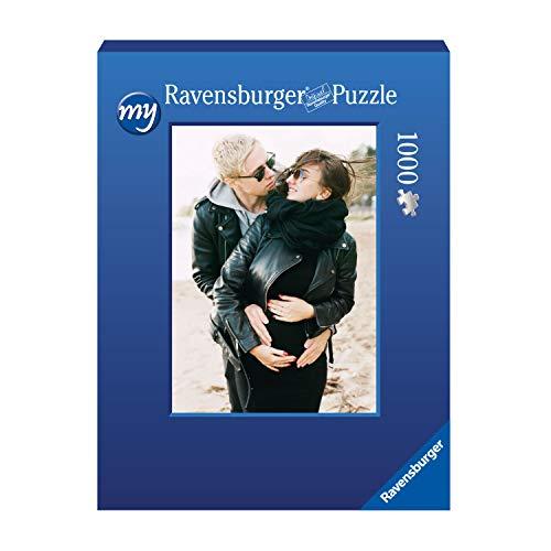Ravensburger Fotopuzzle 49 bis 2000 Teile Puzzle zum Selbstgestalten - personalisierte Fotogeschenke für Kinder und Erwachsene (1000 Teile in Blauer Pappschachtel - Hochformat)