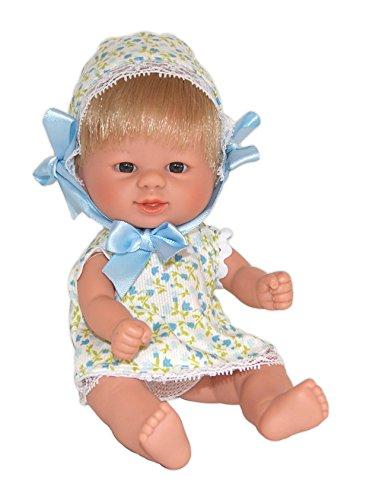 Carmen González - Bebetin, muñeca bebé, 21 cm (D'Nenes Diseño 012409)
