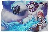 Annie Frostfire League Legends - Manta de viaje para mejorar el sueño, cálidas y cómodas mantas de 60 x 80 pulgadas