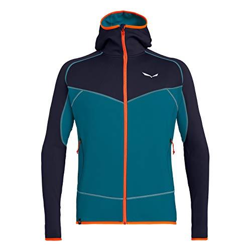 Salewa Herren Pullover und Sweatshirts Puez 3 Pl M Fz HDY, Premium Navy/8730/4570, 54/2X, 00-0000026326