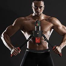 0-200kg verstelbare hydraulische armsterkte apparaat borst spierarm training grip bar thuis fitnessapparatuur.