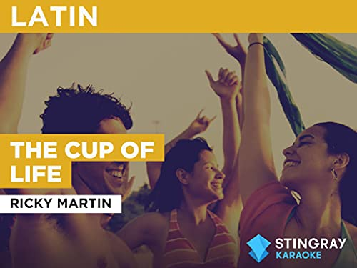 The Cup Of Life in the Style of Ricky Martin