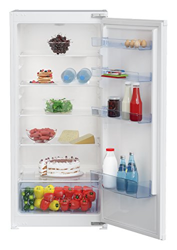 Réfrigérateur encastrable Beko BLSA210M2S - Réfrigérateur encastrable 1 porte - 198 litres - Froid statique - Dégivrage automatique - Blanc - Classe A+ / Integrable