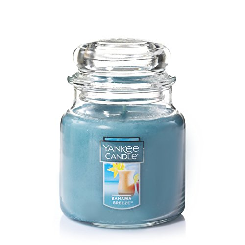YANKEE CANDLE Car Jar Ultimate Aufhängen Lufterfrischer, Bahama Breeze, blau, M Jar Candle