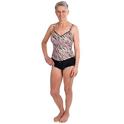 Suprima Badeanzug Kombi-Set mit Sicherheitsslip für Damen 52