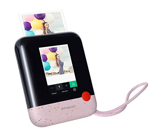 Polaroid Pop 2.0 2 in 1 Wireless Portable Instant 3x4 Photo Printer & Digital 20MP Camera with Touchscreen Display, Built-in Wi-Fi, 1080p HD Video (Speckled Pink).