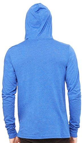 Yoga Clothing For You Mens Lightweight Hoodie Tee Shirt