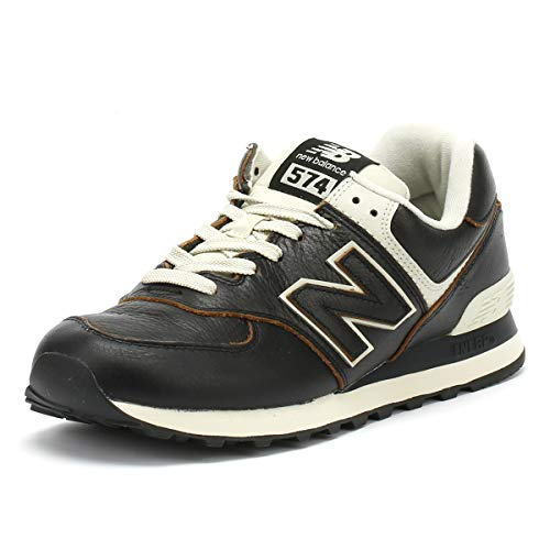 New Balance 574v2, Bas homme - Noir (Black Black), 36 EU (3.5 UK)