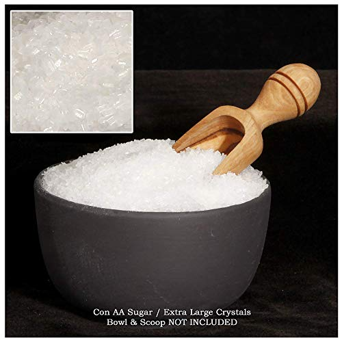 The Spice Lab Confectioners Sugar - Extra Coarse Sugar - 1 Pound - Con AA - Sugar Crystals for Baking and Cupcake Decorations - Excellent for Decorating Candy - Perfect for Bakeries