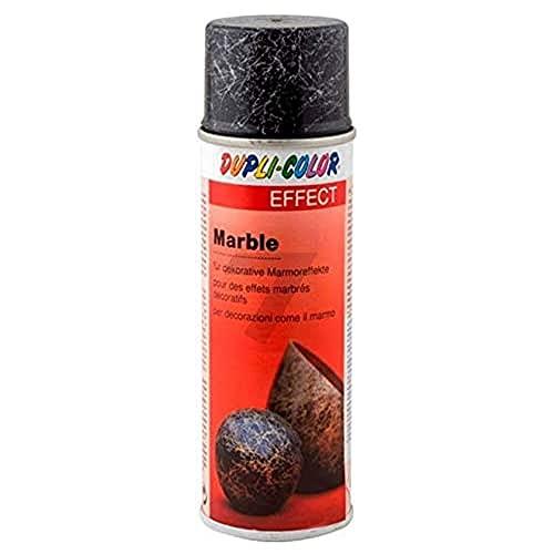 Dupli-Color, Vernice Spray Effetto Marmorizzato, 200 ml, Argento (Silber) - 634796