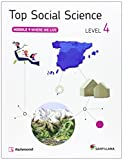 TOP SOCIAL SCIENCE 4 WHERE WE LIVE - 9788468020099