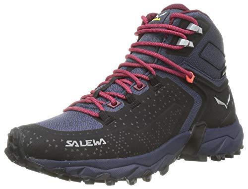 Salewa Damen WS Alpenrose 2 Mid Gore-TEX Trekking- & Wanderstiefel, Asphalt/Tawny Port, 40 EU