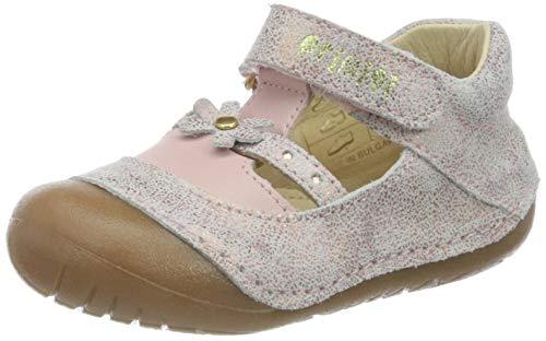 Primigi Scarpa Primi Passi Bambina, Sneakers Basses bébé Fille, Rose (Baby Mud/Baby 5400100), 17 EU