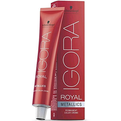 Schwarzkopf IGORA Royal Premium-Haarfarbe 7-17 mittelblond cendré kupfer, 1er Pack (1 x 60 g)