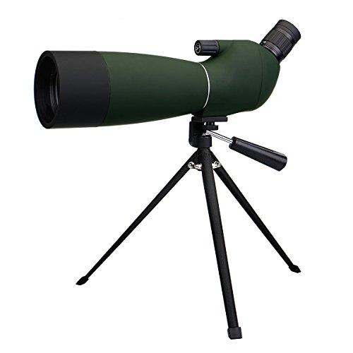 SVBONYSV28フィールドスコープスポッティングスコープバードウォッチング単眼望遠鏡アーチェリー、野鳥観察