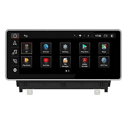 Unidad Principal Android 10.0 Auto Stereo Radio, 8.8 Pulgadas 32GB para Audi A3 2013 2014 2015 2016 2017 2018 Navegación GPS para automóvil 4G BT WiFi RDS Mirrorlink Multimeida Video Audio