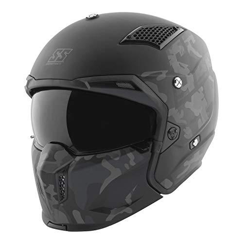 Casco De Moto Abierto Xl  marca Speed & Strength
