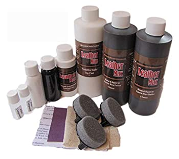 Blend It On Furniture Leather Max Complete Room/Large Sectional Kit/Leather Repair & Refinish/The Only Repair Refinish You Will Ever Need  Dark Brown
