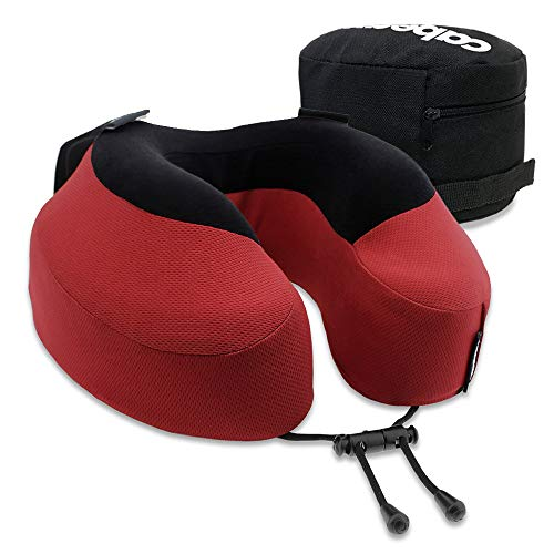 Cabeau Evolution S3 Travel Pillow, Memory Foam Airplane Neck Pillow for Travel, Home, Office, Neck...
