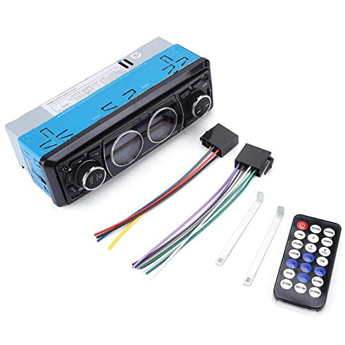 CHICIRIS Reproductor de MP3 para Coche, Reproductor de MP3 estéreo DIN Bluetooth para Coche Audio Radio Soporte USB/FM/SD