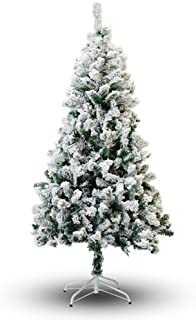 Perfect Holiday Christmas Tree, 7', Flocked Snow