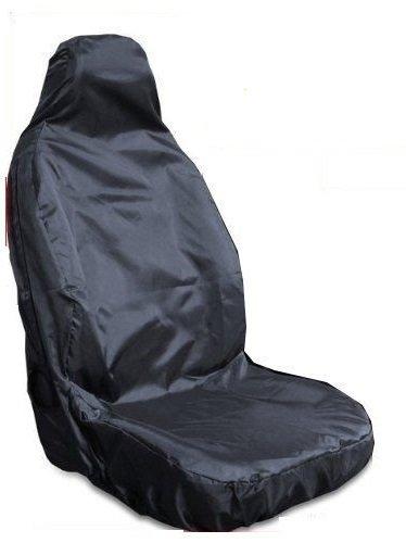 Mr E Saver Heavy Duty Waterproof Front Seat Cover Protectors Black MRE774