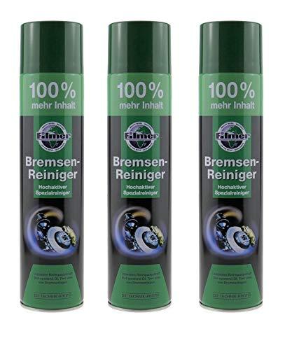 P4B   Remreiniger-spray   zeer actieve reinigingssport voor het verwijderen van stof, vuil en smeermiddelen   voor industrieel en ambachtelijk gebruik 3x Dosen mit je 600ml