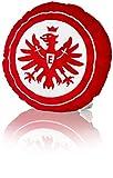 Eintracht Frankfurt Fleece Kissen Logo rund, Kuschelkissen, Dekokissen SGE - Plus Lesezeichen I Love Frankfurt
