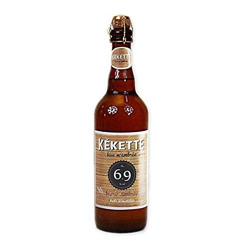 Kékette cerveza ámbar 6,9 ° 75 cl Bouteille (75 cl)