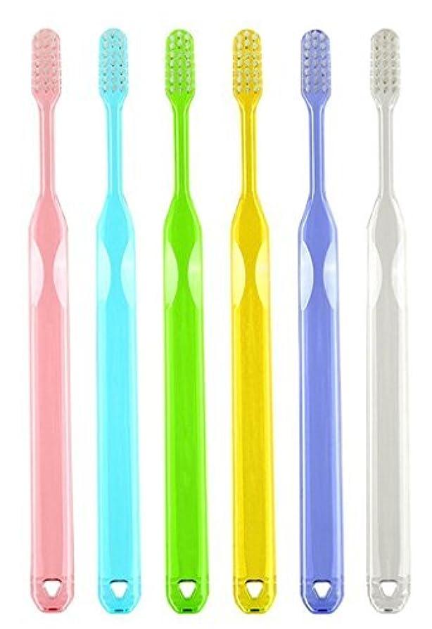 フェザー優先地球ラピス LA-211 先細毛 ふつう 歯科用歯ブラシ アソート(6本セット)【日本製】