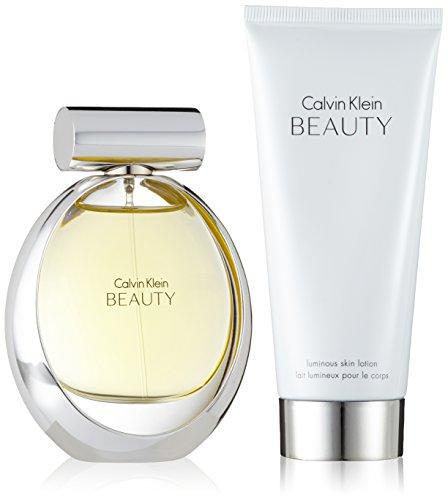 Calvin Klein Beauty Geschenkset femme / woman, Eau de Parfum Vaporisateur / Spray 50 ml, Bodylotion 100 ml, 1er Pack (1 x 1 Set)